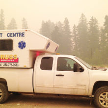 Canruss Assists Forest Fire Fighters