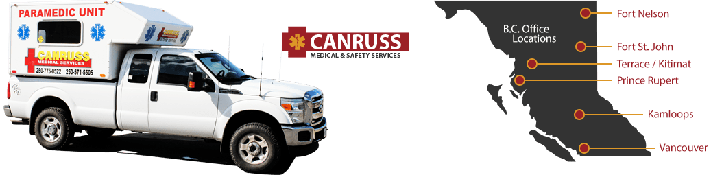 Welcome to Canruss Medical & Safety Services