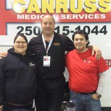 Steven Ryder of Canruss Medical Safety Services