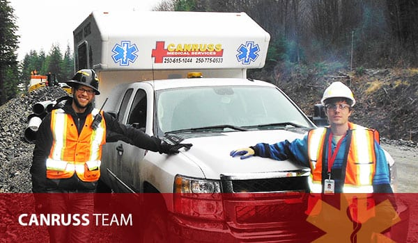 BC Paramedic Staff at Canruss Medical and Safety Services